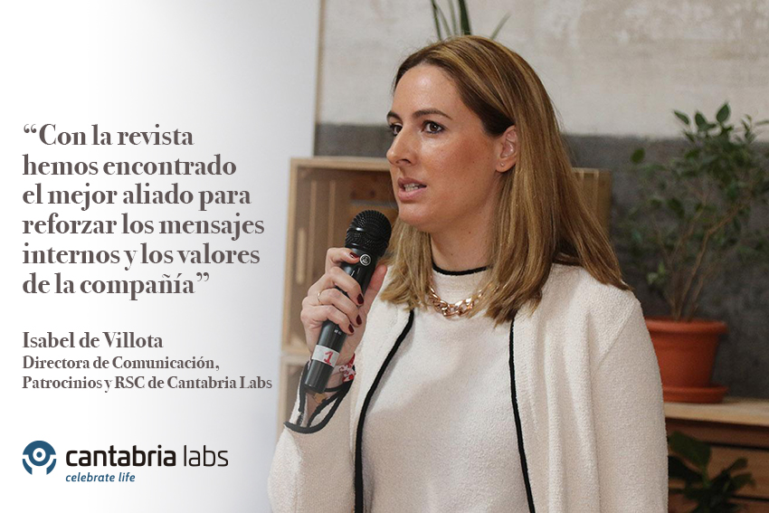 """Celebrate life"", la revista interna de Cantabria Labs"